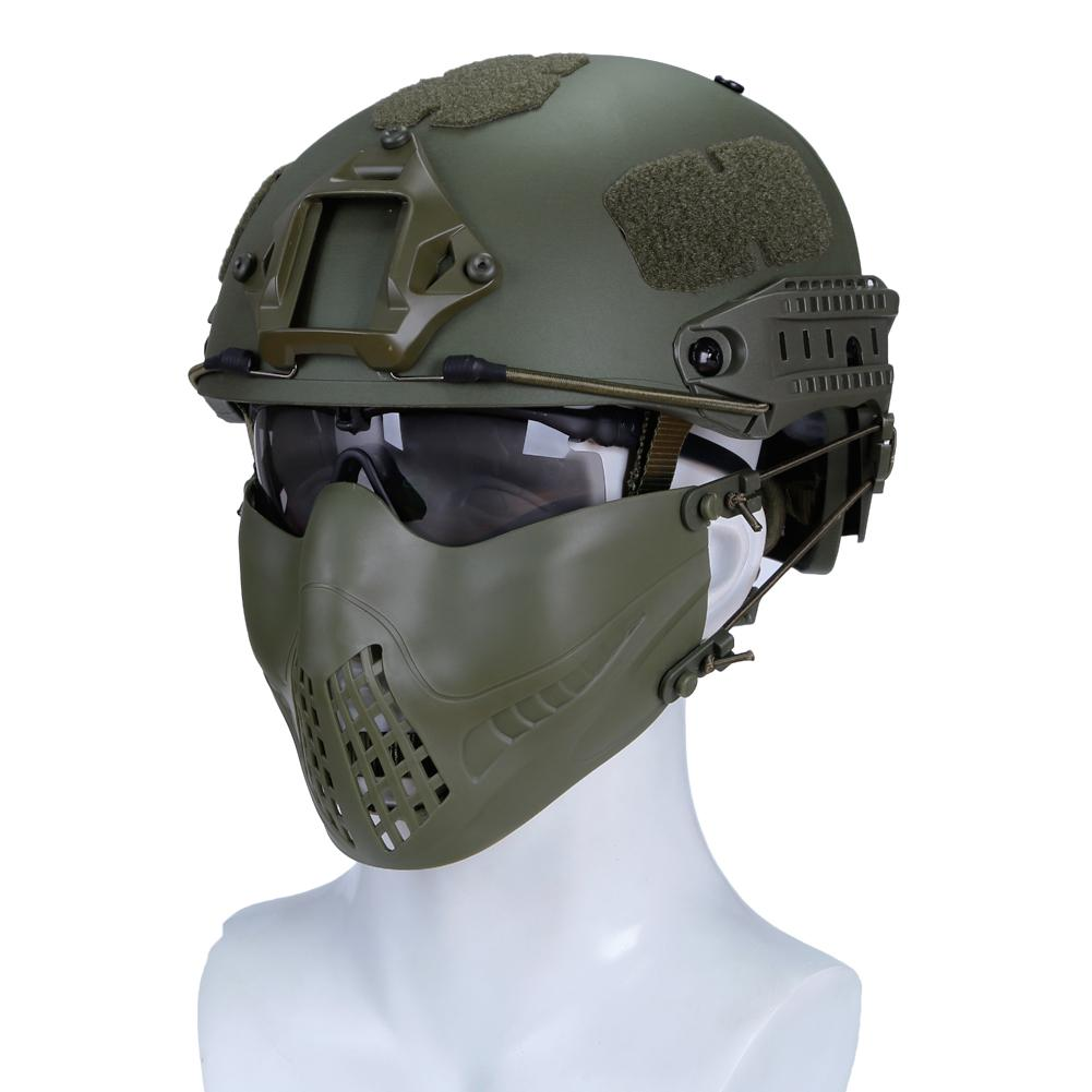 Dual Mode Mask Airsoft Headwear Headband System Outdoor ...