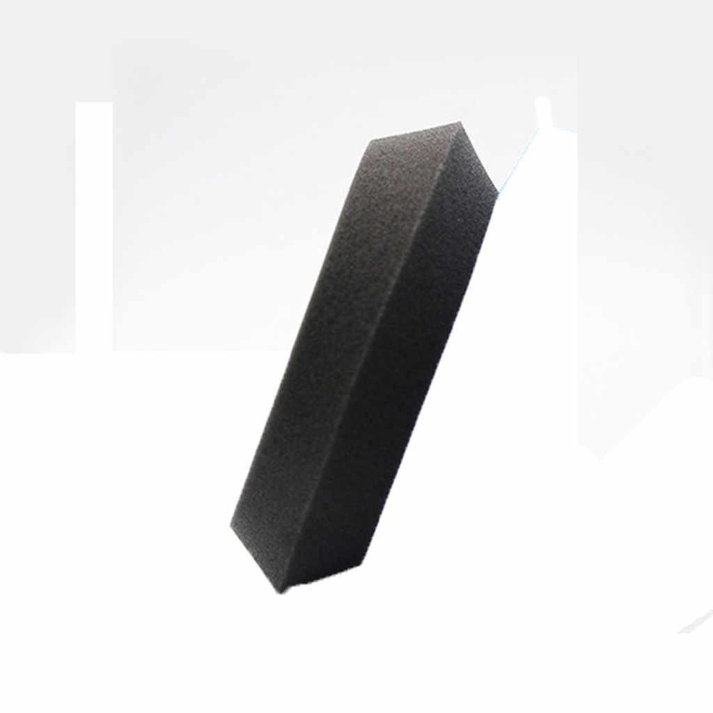 Yaklaşık 110mm Yuvarlaklık Araba-styling Araba Köpük Ağda Pedleri Araç Sünger Aplikatör Temiz Boya Parlatma Yıkama Fırçası Araçları # YL1