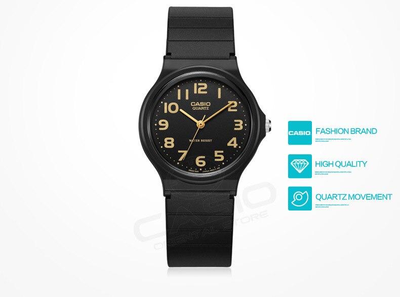 45161bf6f5a CASIO ASSISTIR Ultra-leve Digital Relógios Homens Pulseira Relógios relogio  relógio Pequeno mostrador de resina caixa de presente banda MQ-27-7B ...