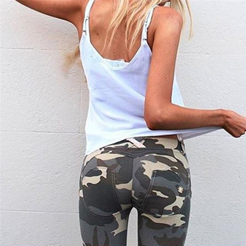 Camouflage High Waist Leggings Women Fitness Leggings Women Camo Pants