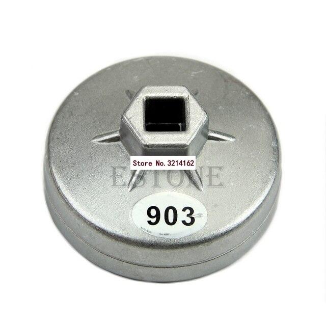 1 PC En Aluminium Filtre À Huile Wrench Socket Remover Outil 74mm 14 Flûte pour BMW AUDI Benz 07NOV