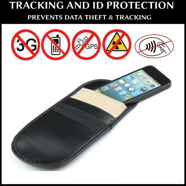 check out 1cc13 03ce2 US $2.2 15% OFF|NOTOW Mobile Cell Phone Mobile RF Signal Shield Blocker  Jammer Bag Pouch Case Anti Radiation For Pregnant Women for iphone 4/5-in  ...