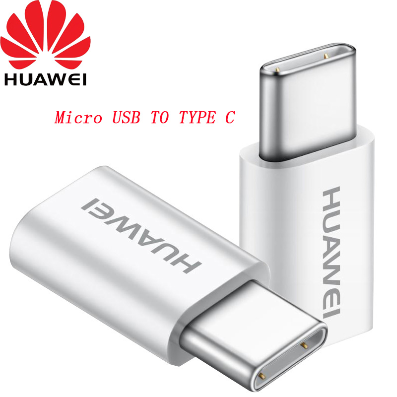 Original HUAWEI Micro USB TO USB 3.1 Type C converter Cable Adapter for P9/P10 PLUS Honor 8 v8 note 8 V9 Magic oneplus 3 3t 5 5T-in Mobile Phone Cables from Cellphones & Telecommunications