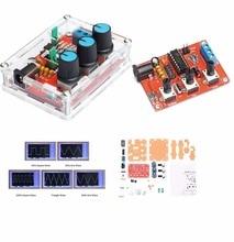 Generador de señal de función XR2206, Kit de bricolaje, salida sinusoidal/triangular/cuadrada, 1HZ 1MHZ