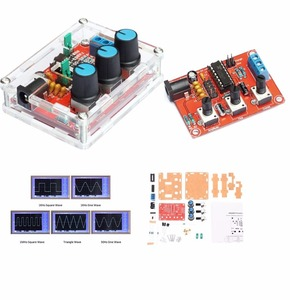 XR2206 Function Signal Generator DIY Kit Sine/Triangle/ Square Output 1HZ-1MHZ(China)