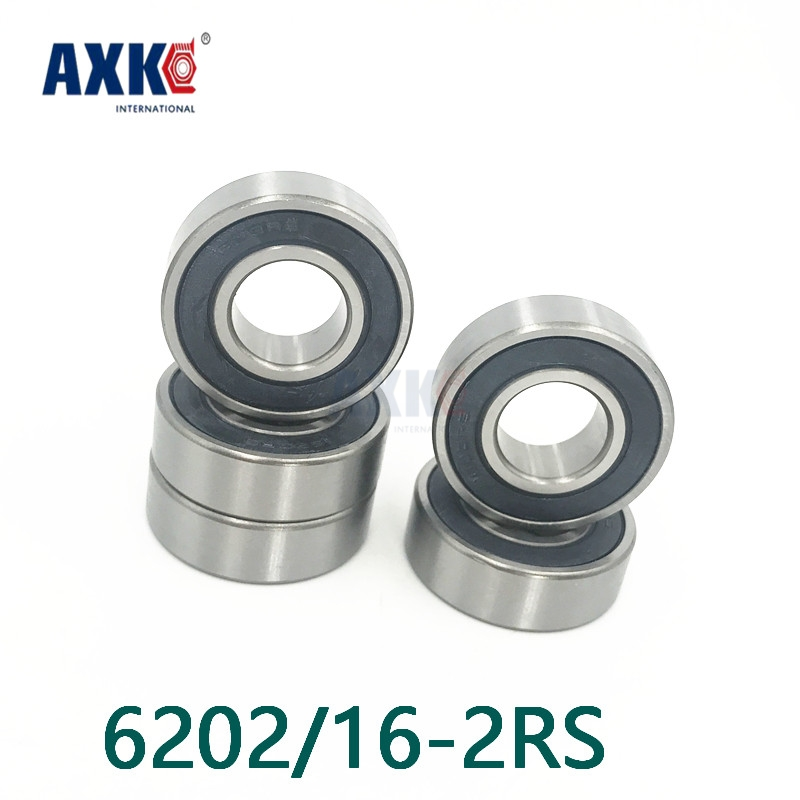 Axk Free Shipping High Quality Non-standard Special Bearings 6202/16-2rs 16*35*11mm 6202-16-2rs high quality of non standard special motor bearings mr125zz size 5 12 4 mm helicopter model car available
