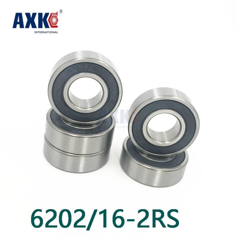 Axk Free Shipping High Quality Non-standard Special Bearings 6202/16-2rs 16*35*11mm 6202-16-2rs high quality non standard special bearings 6203x2 6203a 6203 42 2rs 17 42 12 mm