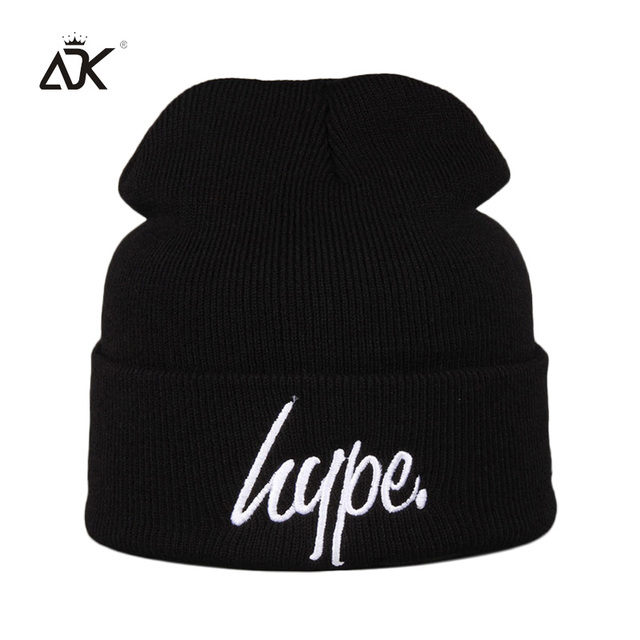 Hip Hop Knitted Hat For Boys Girls Embroidery Hype Hat 2018 Casual Autumn  Winter Men Winter Beanies Warm Beanie For Women 211bc266017