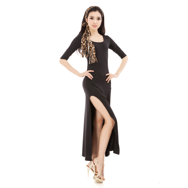 217a74860e3ca black Hot-sale Rumba Jive Chacha Ballroom Latin Dance Dress Girls Women ,Women  Latin dance,latin dress