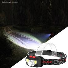 LED USB Rechargeable Headlamp Induction Headband Light For Outdoors Camping head lamp
