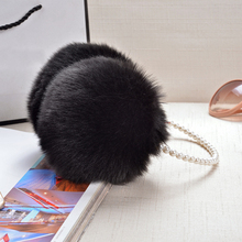 Top Sell Fashion Rabbit Fur Earmuffs Ear Muffs Warmers Winter Outdoor Women Christmas Gifts