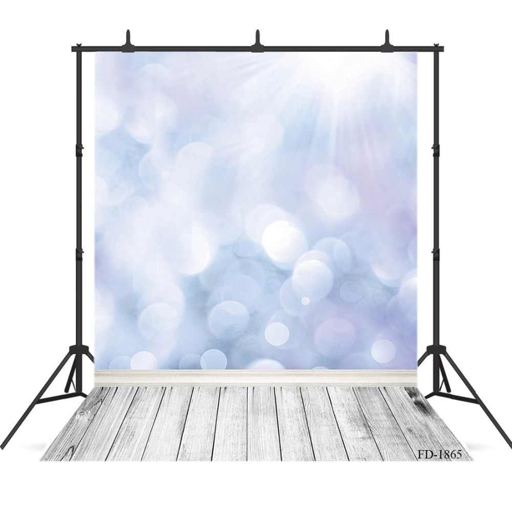 Lấp Lánh Bokeh Sàn Gỗ Giáng Sinh Nền Chụp Ảnh Cho Photophone Trẻ Em Chân Dung Vincy Vải Phông Nền Chụp Ảnh Phòng Thu