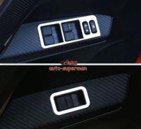 FOR Toyota RAV4 2013 2014 Chrome Interior Door Window Switch cover trims