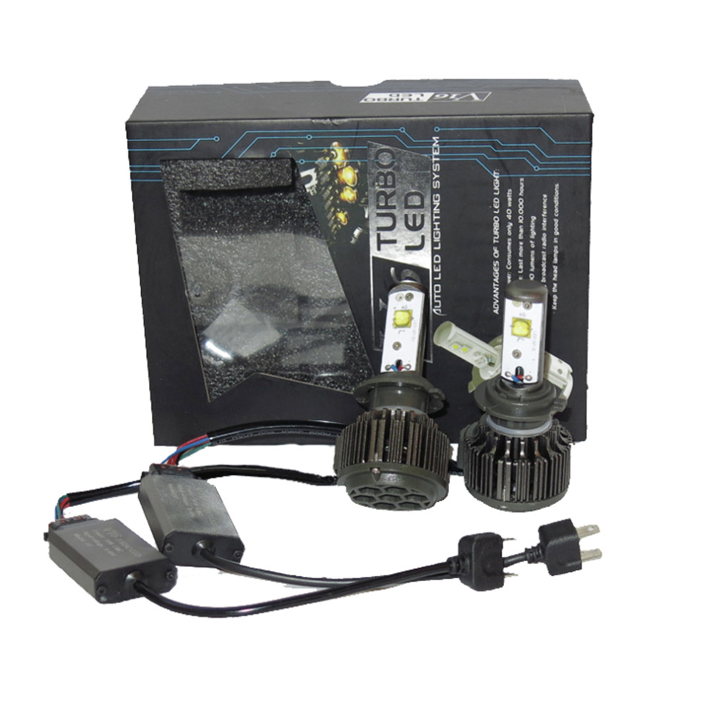 2x Car 60W 7600LM KIT H7 White 6000K LED Headlight Bulb Driving font b Lights b