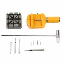11Pcs/Kit Metal Watch Band & Bracelet Link Remover Repair Tool Repair W