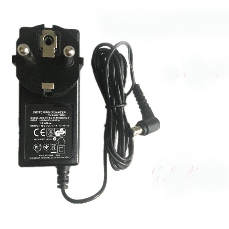 UE plug 19 V 1.3A adaptador AC cargador de pared para LG ADS-40FSG-19 19032GPG-1 EAY62790006