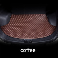 Tailored Cargo Boot Liner Tray For Hyundai Tucson TL 2016 2017 2018 2019 Boot Cargo Liner Rear Trunk Floor Mat Tray Carpet