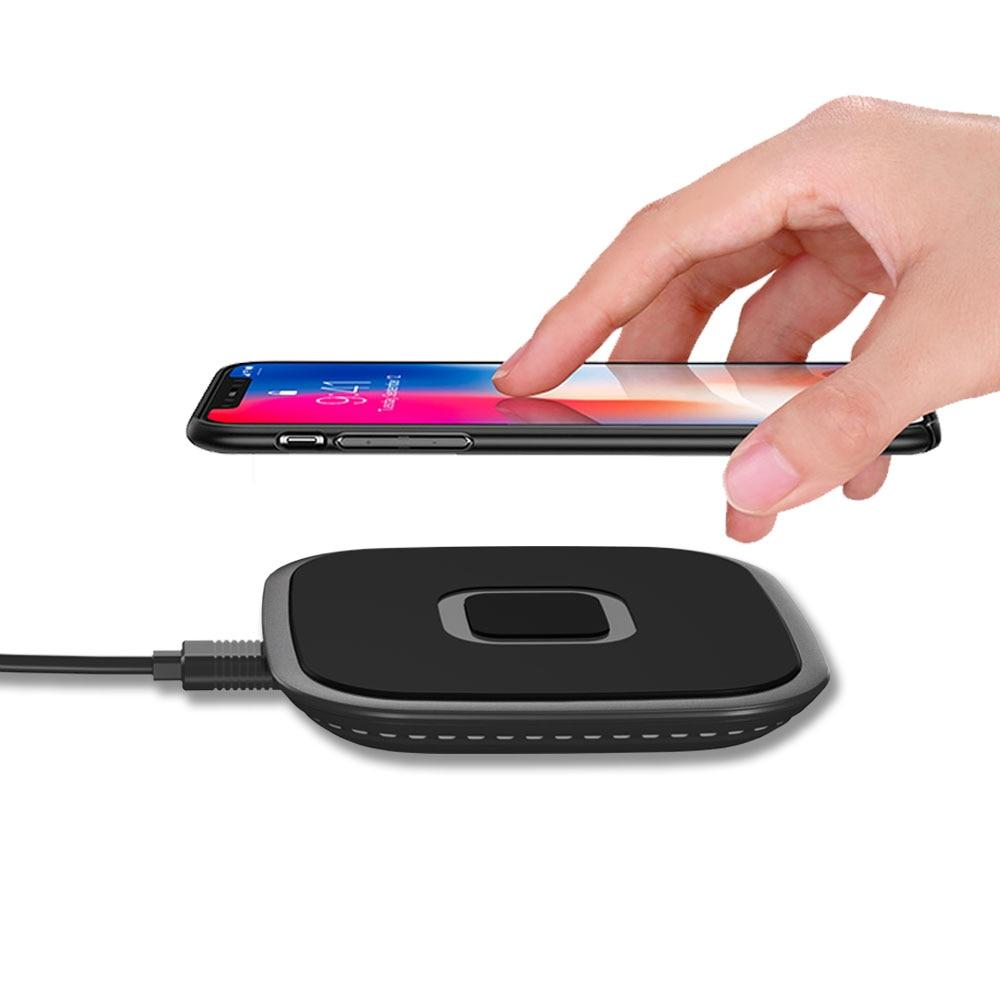10 W/7,5 W Qi Drahtlose Ladegerät Schnell Ladung Für Iphone X/xs Max Xr 8 Plus Schnelle Wireless Charging Pad Für Samsung S10 Für Xiaomi Handy-zubehör