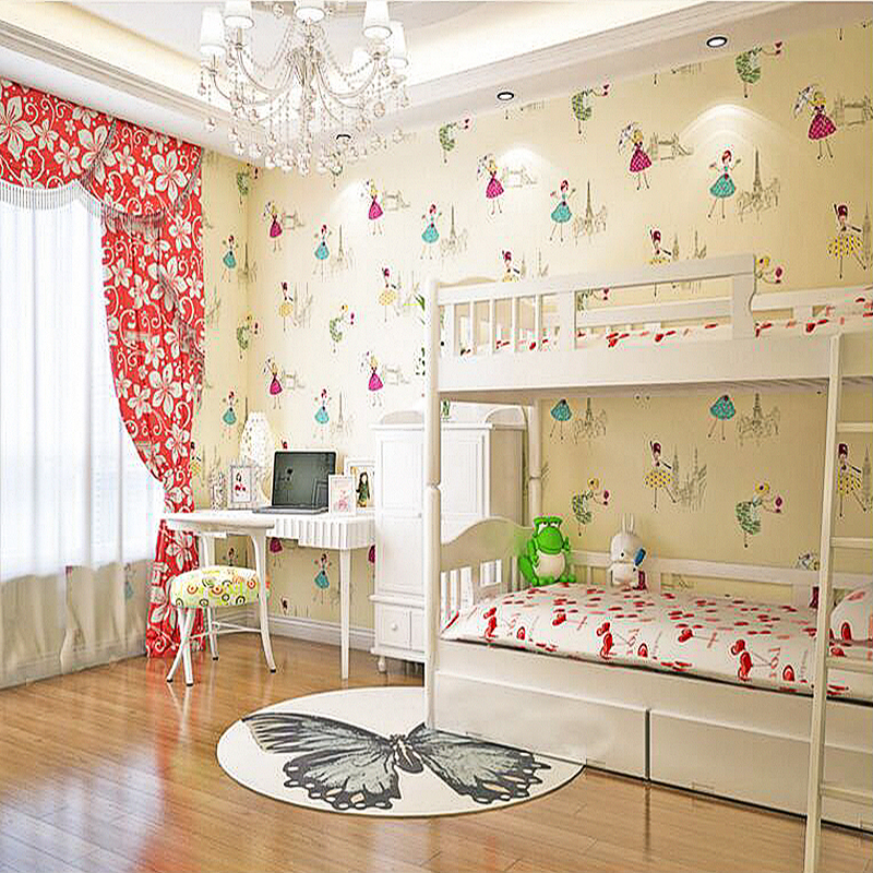 YOUMAN 3D Children's Room Boy Girl Bedroom Cartoon Embossing Wallpaper Environmental Protection Roll Decor Wallpapers For Wall 3d thickened non woven wallpaper wall covering roll cartoon bear children bedroom girl boy room decoration wallpapers for wall