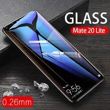 アンチスクラッチ 0.26 ミリメートル強化ガラス Huawei 社メイト 20 10 Lite Pro のスクリーンプロテクター Mate20 Mate10 lite プロ保護ガラス