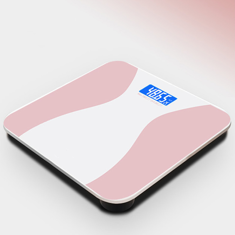 We Flower Bathroom Floor Body Scale Glass Smart Electronic Scales  LCD Display Body Weighing Digital Weight ScaleWe Flower Bathroom Floor Body Scale Glass Smart Electronic Scales  LCD Display Body Weighing Digital Weight Scale