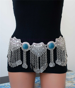 Image 1 - NEW ARRIVAL! belly dance accessories sexy Master belly dance belt women tassel coines belly dance hip scarf