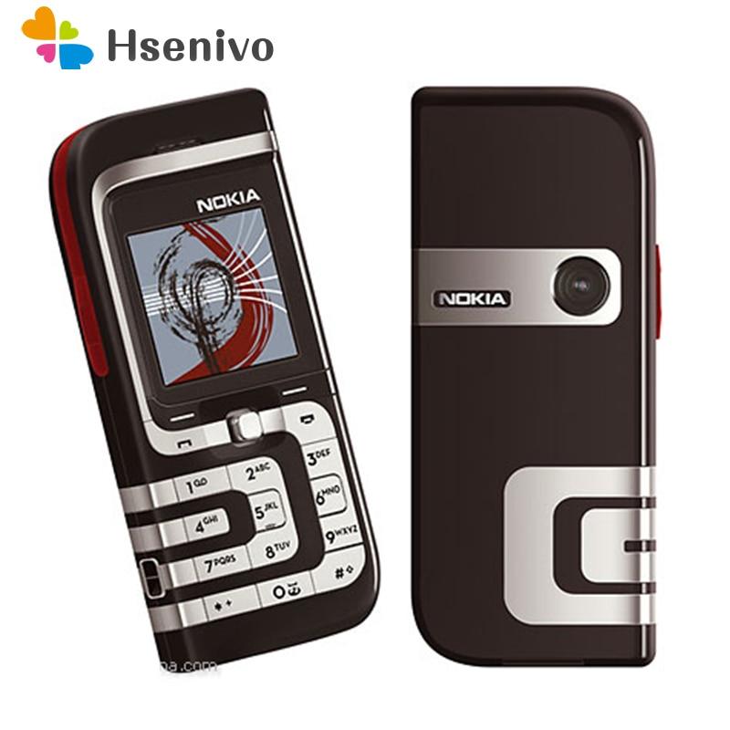 7260 Original Refurbished Nokia 7260 Mobile Phone Old Cheap Phone Gold color refurbished feature phone