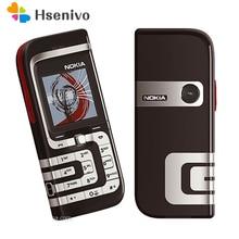 7260 оригинальные Восстановленное Nokia 7260 Мобильный телефон старые дешевые телефон золотого цвета Бесплатная доставка