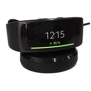 Image 1 - USB Dock şarj adaptörü standı şarj kablosu kablosu Samsung Galaxy dişli Fit 2 R360 / Fit2 Pro R365 akıllı bilezik bileklik