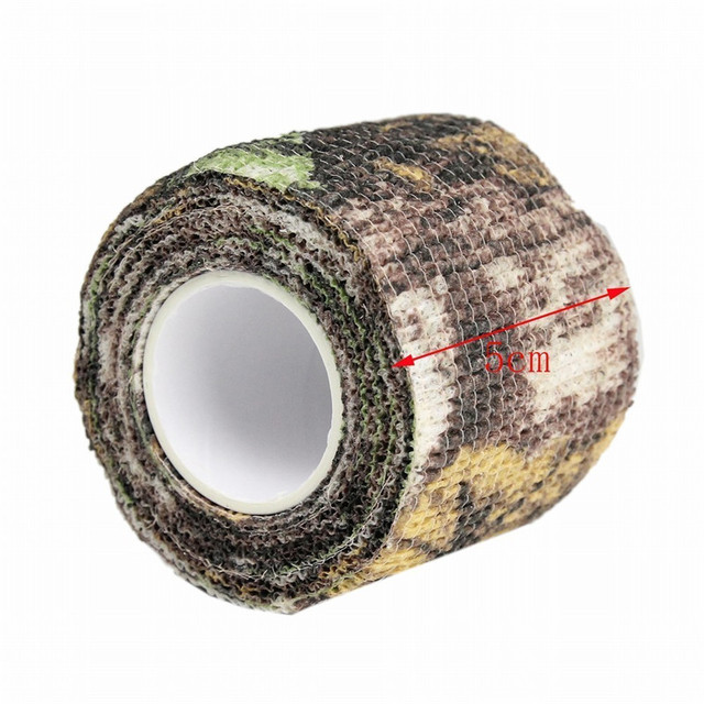 Multi-functional Camo Tape Non-woven Self-adhesive Camouflage Waterproof Non-Slip Stealth Tape
