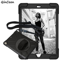 Pirate Case For IPad Air 1 Kids Safe Shockproof Tablet Case PC Silicone Stand Cover W