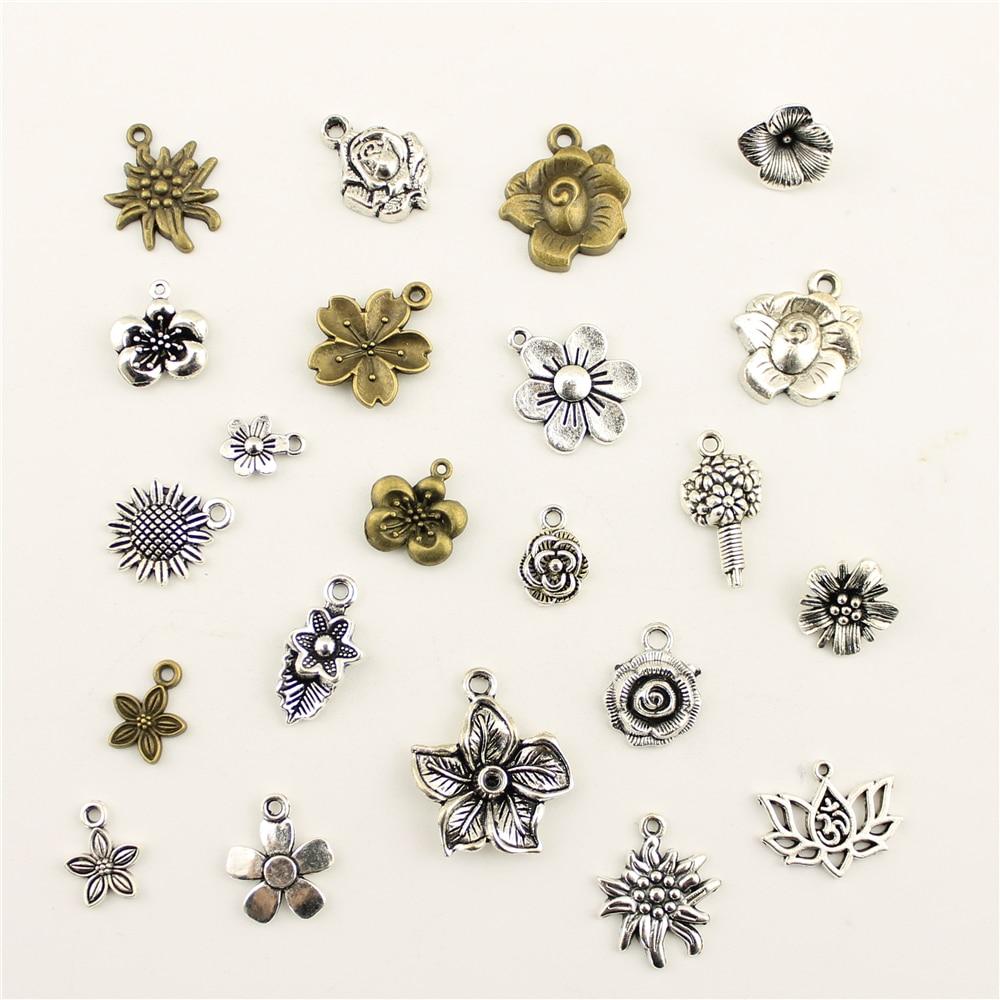 Jewelry Female Plant Flowers Diy Jewelry Accessories Diy Accessories in Charms from Jewelry Accessories