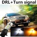 cheetah For 2010-2015 Outback DRL Daytime Running Light & Turn Signal Light Warning Xenon lamp White+Amber Free shipping