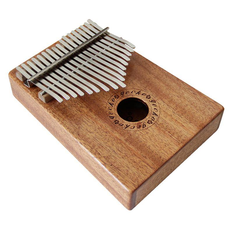 Delicioso Caliente 17 Teclas K17m Kalimba 17 Pulgar Africano Piano Dedo Percusión Teclado Instrumentos De Música Niños Marimba Madera