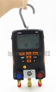 Image 5 - Testeur 550 jauge de collecteur numérique, kit de compteur avec Bluetooth / APP 0563 1550, avec 2 sondes de serrage, étui