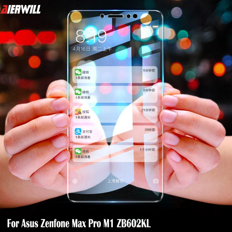 Glass For Asus Zenfone Max Pro M1 ZB602KL Tempered Glass Full Cover Screen Protector Film For Asus Zenfone Max Pro M2 ZB631KL