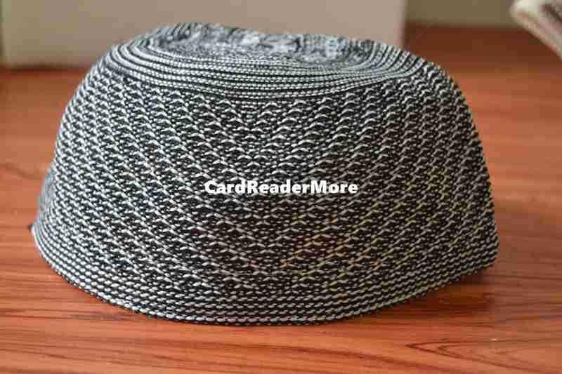Striped Twill Muslim prayer cap Men Beanie Islamic Turkish Arabic hat  crochet taqiyah tagiya topi kufi caps c3ffe7cd14