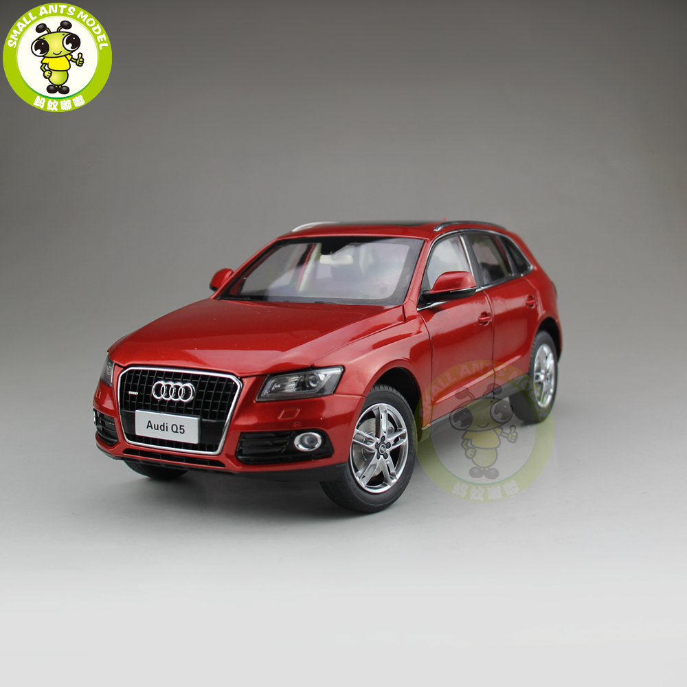 1/18 Audi Q5 SUV Diecast Metal Car SUV Model Toy Boy Girl Kids Gift Collection Red 1 18 bjc jeep 212 with cannon army military suv diecast alloy metal suv car model toy boy girl birthday gift collection hobby