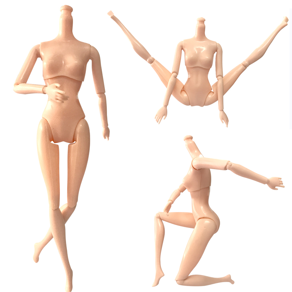 NK One Pcs 12 Joints Doll Naked Body Birthday Gift DIY Kids Toy For 30CM  Doll For 1/6  Doll Without Head Doll Accessory DZ