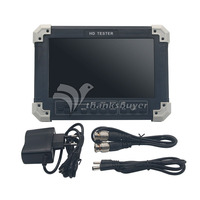 V5.5 7 inch TFT LCD CVBS + TVI + AHD + VGA + HDMI CCTV Cam Video Test HD Tester X42TAC