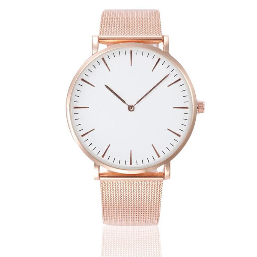 Fashion Women Crystal Stainless Steel Analog Quartz Wrist Watch Bracelet Mechanical Watches Women Drop Shipping Y121630 mens silver stainless steel date quartz analog sport wrist watch 2017 2018 fashion style of fashion drop shipping au11