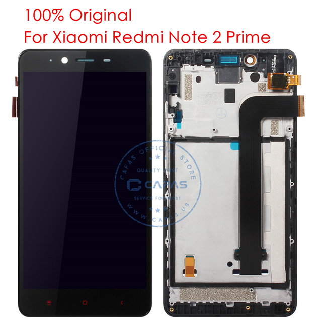 Original Redmi Note 2 Prime LCD Display Frame Touch Screen For Xiaomi