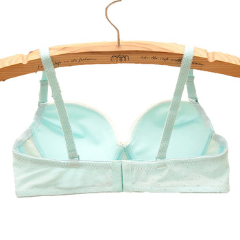 Cute Cotton Comfortable Adjusting Small Chest Girl Bra 1
