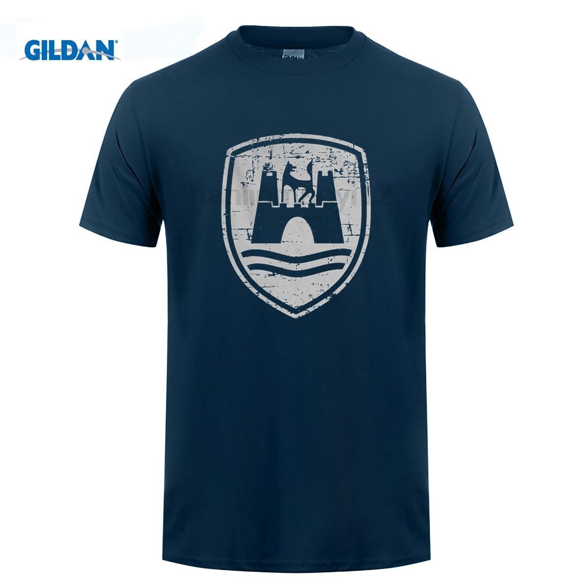 GILDAN men short sleeve t shirt Classico Di Wolfsburg, Uomo Campervan T-shirt Cotton T-Shirt Fashion T Shirt