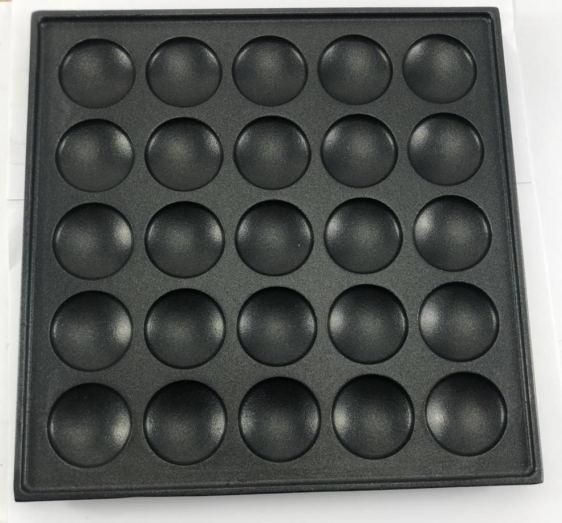 25 holes mini pancake iron pancake model25 holes mini pancake iron pancake model