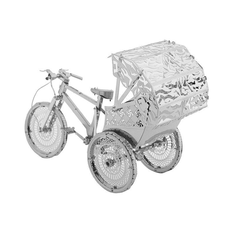 Rompecabezas modelo 3DMetal Multi-estilo DIY Laser Cut Rompecabezas - Juegos y rompecabezas - foto 3
