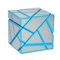 Fangcun 3x3 Fantasma Cube Magic Cube Enigma Azul/Branco/Preto Oco Etiqueta Velocidade Cube Brinquedos Especiais para As Crianças