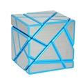 Fangcun 3x3 Fantasma Cubo Cubo Mágico Puzzle Azul/Blanco/Negro Hollow Pegatina Speed Cube Juguetes Especiales para Los Niños