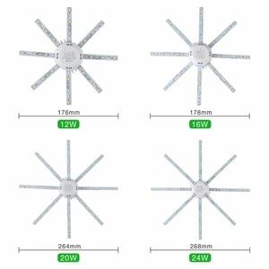Image 3 - LED Tavan Lambası Ahtapot Işık 12W 16W 20W 24W LED ışık Kurulu 220V 5730SMD Enerji Tasarrufu beklentisi LED Lamba Soğuk Sıcak beyaz