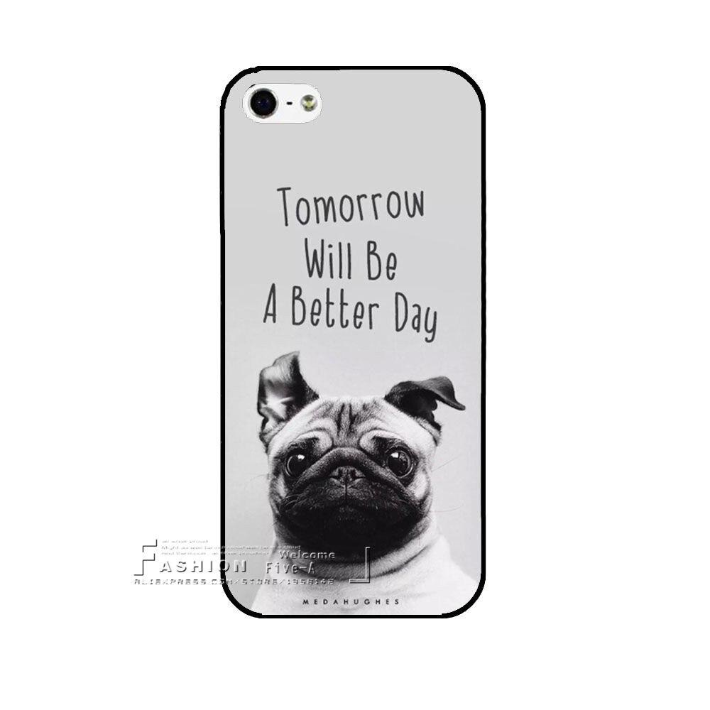 HTB1AaHTKVXXXXaQaXXXq6xXFXXXM - Pug Phone Cover - for Iphone